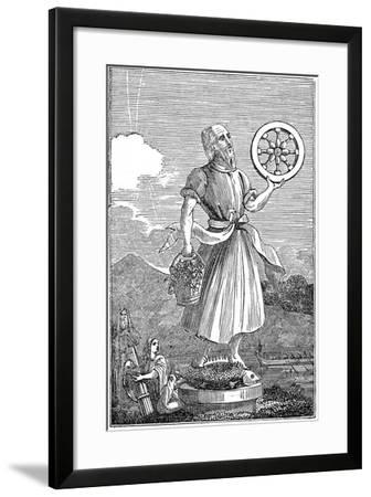 Representation of Crodon, 1834--Framed Giclee Print