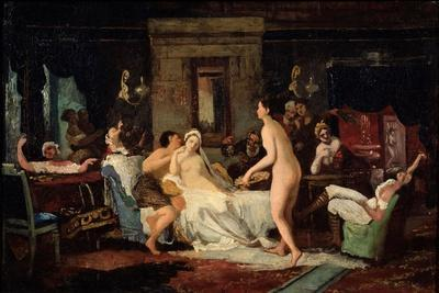Eve-Of-The-Wedding Party in a Bath, 1885-Firs Sergeevich Zhuravlev-Framed Giclee Print