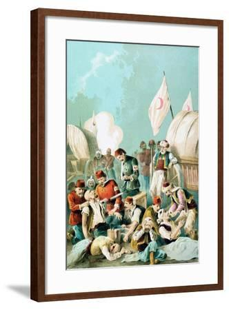 Arm Being Amputated Without Anaesthetic, Russo-Turkish War, 1877--Framed Giclee Print