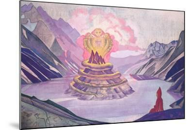 Nagarjuna Conqueror of the Serpent, 1925-Nicholas Roerich-Mounted Giclee Print
