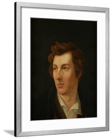 Portrait of the Poet Heinrich Heine (1797-185), 1828-Gottlieb Gassen-Framed Giclee Print