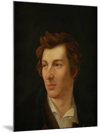 Portrait of the Poet Heinrich Heine (1797-185), 1828-Gottlieb Gassen-Mounted Giclee Print