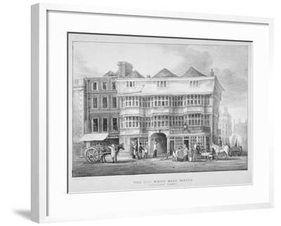 The White Hart Inn, Bishopsgate, City of London, 1825--Framed Giclee Print