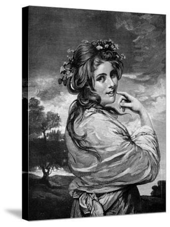 Lady Hamilton as 'Nature', C1783-1784-Joshua Reynolds-Stretched Canvas Print