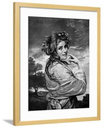 Lady Hamilton as 'Nature', C1783-1784-Joshua Reynolds-Framed Giclee Print