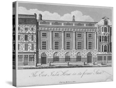 East India House, Leadenhall Street, City of London, 1800--Stretched Canvas Print