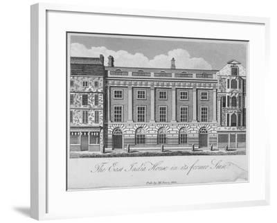 East India House, Leadenhall Street, City of London, 1800--Framed Giclee Print