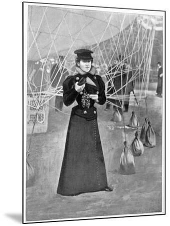 The Aero Club, Costume of a Female Ballooner, 15th November 1898--Mounted Giclee Print