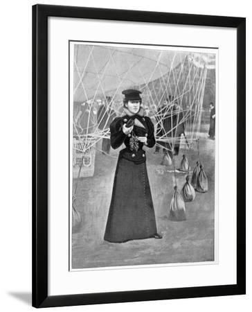 The Aero Club, Costume of a Female Ballooner, 15th November 1898--Framed Giclee Print