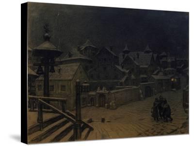 The Boyars' Mansions Sleeping, 1918-Appolinari Mikhaylovich Vasnetsov-Stretched Canvas Print