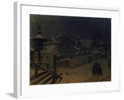 The Boyars' Mansions Sleeping, 1918-Appolinari Mikhaylovich Vasnetsov-Framed Giclee Print