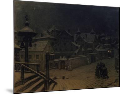 The Boyars' Mansions Sleeping, 1918-Appolinari Mikhaylovich Vasnetsov-Mounted Giclee Print