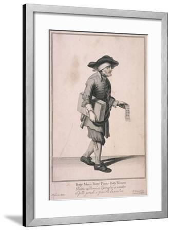 Pretty Maids Pretty Pinns Pretty Women, Cries of London-Marcellus Laroon-Framed Giclee Print