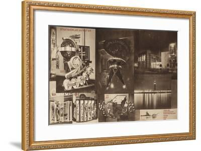 USSR, Catalogue of the Soviet Pavilion at the International Press Exhibition, Cologne, 1928-El Lissitzky-Framed Giclee Print