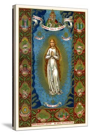 Stella Maria, 1886--Stretched Canvas Print