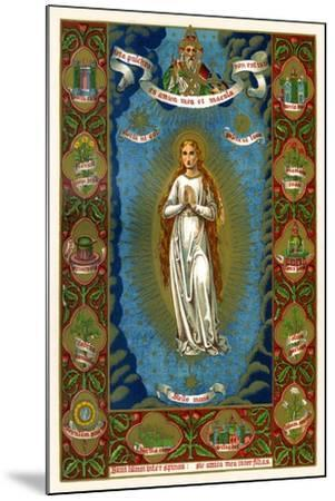 Stella Maria, 1886--Mounted Giclee Print