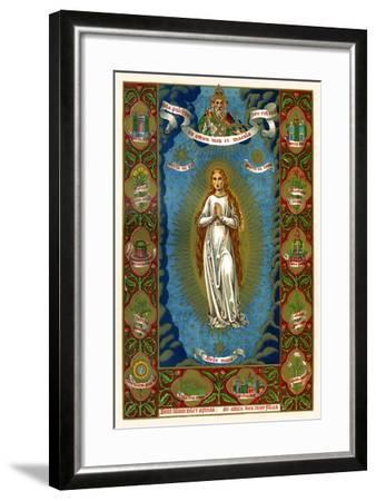 Stella Maria, 1886--Framed Giclee Print