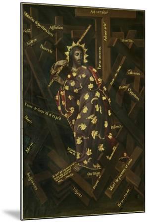 El Cristo De Las Cruces, Early 18th C-Francisco Moyen-Mounted Giclee Print