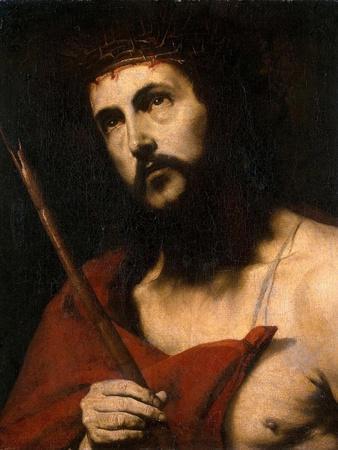 Ecce Homo, 1632-1634-Jose de Ribera-Framed Giclee Print