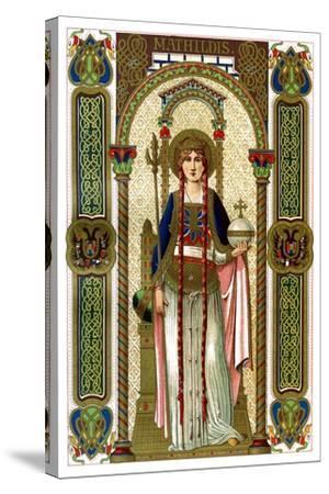 St Mathilda, 1886--Stretched Canvas Print