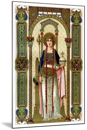 St Mathilda, 1886--Mounted Giclee Print