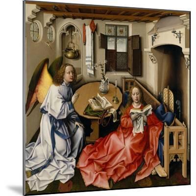 The Annunciation (Mérode Altarpiec), Ca 1428-1432-Robert Campin-Mounted Giclee Print