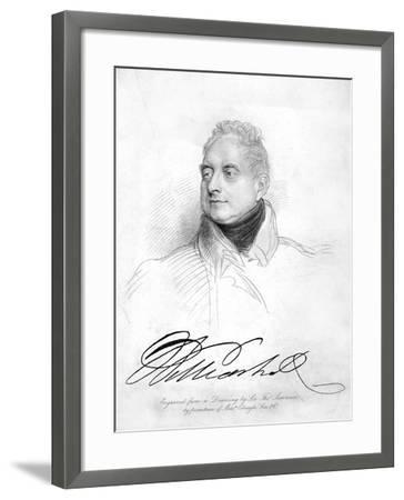 William IV of the United Kingdom, 19th Century-Thomas Lawrence-Framed Giclee Print
