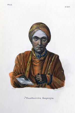 Mouttouvira Soupraya, 1828- Marlet et Cie-Stretched Canvas Print