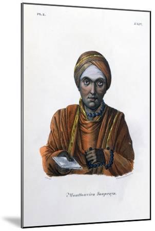 Mouttouvira Soupraya, 1828- Marlet et Cie-Mounted Giclee Print