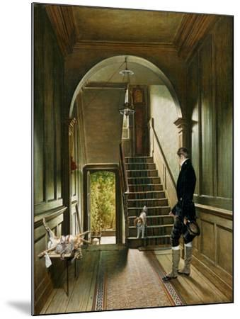 The Staircase of the London Residence of the Painter, 1828-Pieter Christoffel Wonder-Mounted Giclee Print