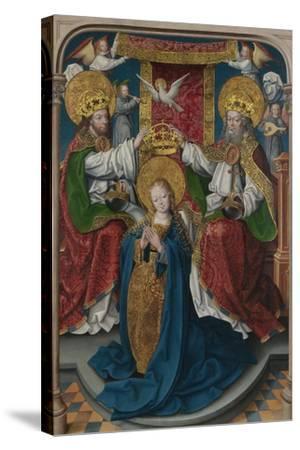 The Coronation of the Virgin (The Liesborn Altarpiec), C. 1520-Jan Baegert-Stretched Canvas Print