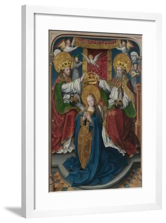 The Coronation of the Virgin (The Liesborn Altarpiec), C. 1520-Jan Baegert-Framed Giclee Print