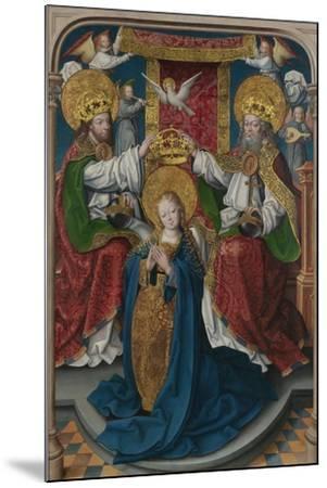 The Coronation of the Virgin (The Liesborn Altarpiec), C. 1520-Jan Baegert-Mounted Giclee Print