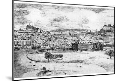 General View of Edinburgh, from Arthur's Seat, 1900-Frank Laing-Mounted Giclee Print