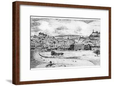 General View of Edinburgh, from Arthur's Seat, 1900-Frank Laing-Framed Giclee Print