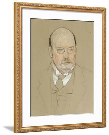 Portrait of the Painter Ilya Ostroukhov (1858-192), 1923-Nikolai Andreevich Andreev-Framed Giclee Print