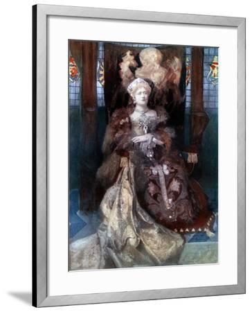 Ellen Terry in Henry VIII, C1902-Window & Grove-Framed Giclee Print