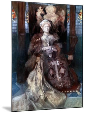 Ellen Terry in Henry VIII, C1902-Window & Grove-Mounted Giclee Print