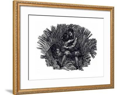 Illustration for Poems and Songs by Robert Burns, 1950--Framed Giclee Print