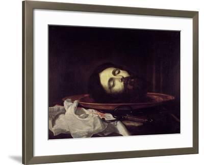 The Head of Saint John the Baptist-Jos? de Ribera-Framed Giclee Print