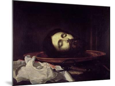The Head of Saint John the Baptist-Jos? de Ribera-Mounted Giclee Print