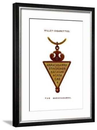 The Abracadabra, 1923--Framed Giclee Print