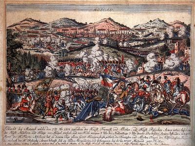 The Battle of Mozhaysk on August 26, 1812--Framed Giclee Print
