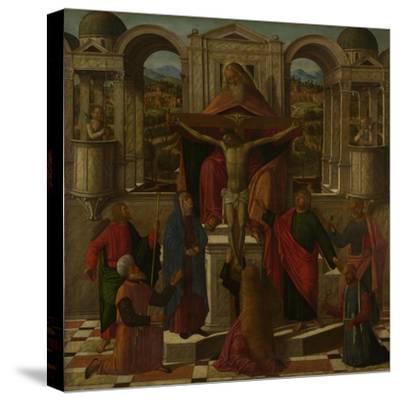 Symbolic Representation of the Crucifixion, C. 1492-Giovanni di Niccolò Mansueti-Stretched Canvas Print
