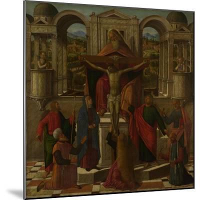 Symbolic Representation of the Crucifixion, C. 1492-Giovanni di Niccolò Mansueti-Mounted Giclee Print