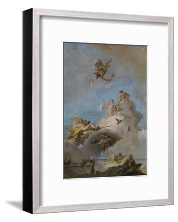 The Triumph of Venus, Between 1762 and 1765-Giandomenico Tiepolo-Framed Giclee Print
