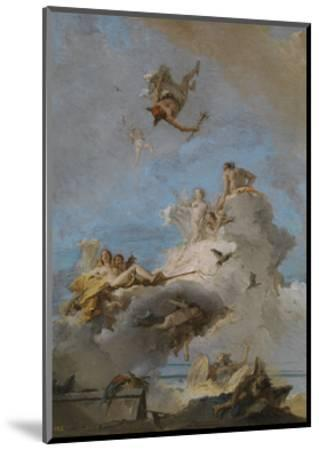 The Triumph of Venus, Between 1762 and 1765-Giandomenico Tiepolo-Mounted Giclee Print