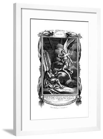 Joseph's Dream: Behold, the Angel of the Lord Appeared Unto Him in a Dream, 1804--Framed Giclee Print