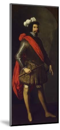 Saint Ferdinand III of Castile, Ca 1630-1634-Francisco de Zurbar?n-Mounted Giclee Print