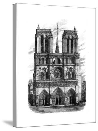 Notre Dame, Paris, C1888--Stretched Canvas Print